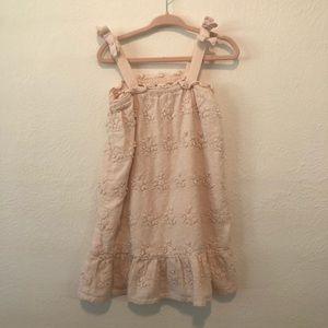 Zara 3/4T pink summer dress
